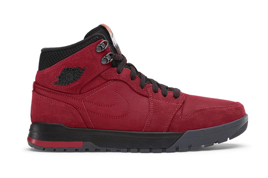 Image of Air Jordan 1 Trek Gym Red/Black-Anthracite