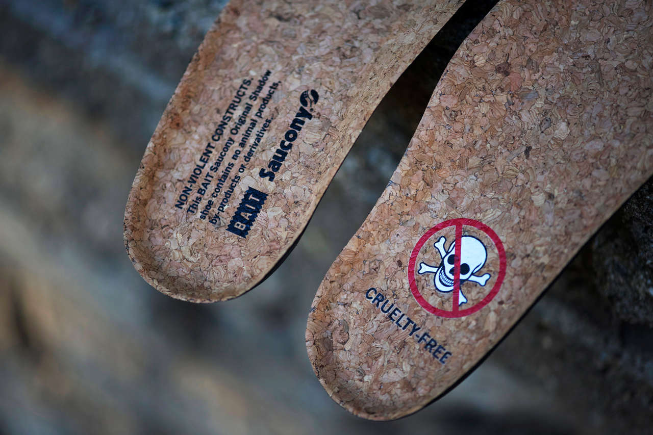 "Image of An Exclusive Look at the BAIT x Saucony Shadow Original ""Cruel World"""