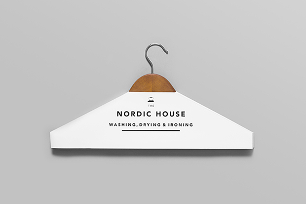 Image of Anagrama Design Studio Rebrand's Nordic House's Dry Cleaning