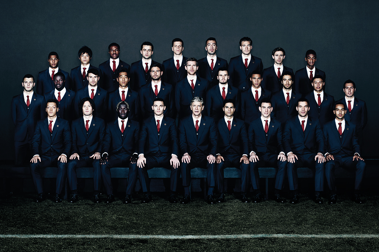 Image of Arsenal FC and Lanvin Announce Two-Year Partnership