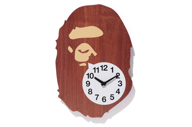 Image of A Bathing Ape BAPE WALL CLOCK