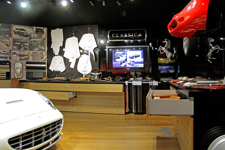 Image of Behind the Scenes at Ferrari's Tailor Made Facility