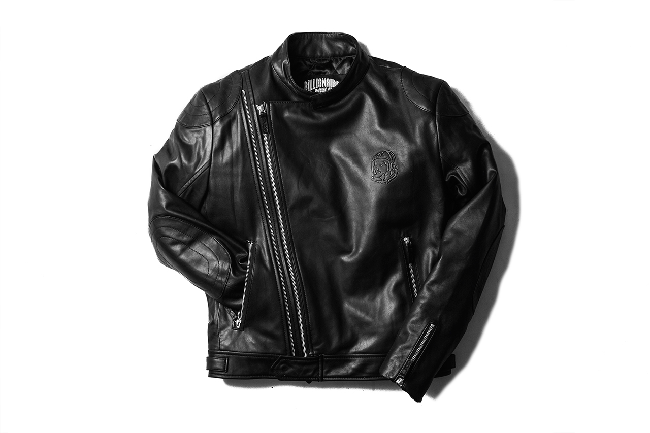 Image of Billionaire Boys Club Wolfman Leather Moto Jacket