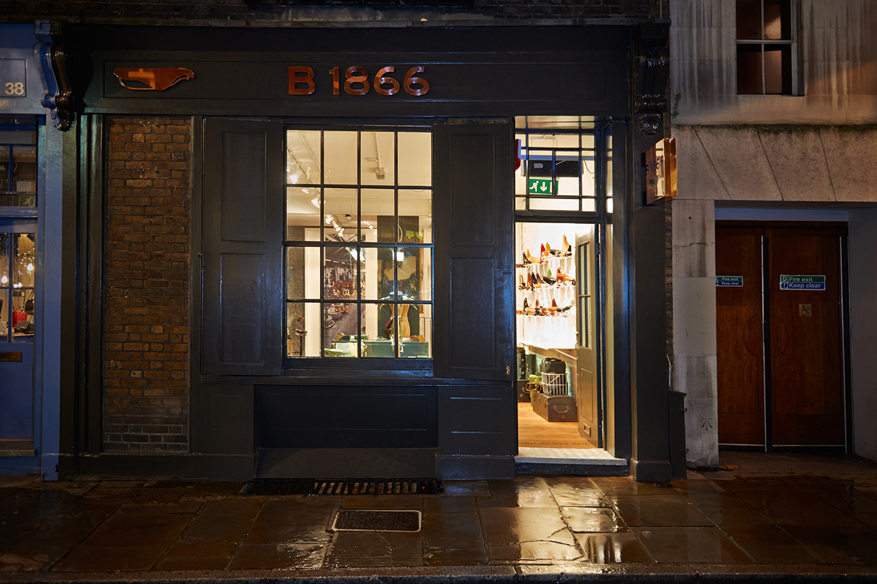 Image of Brooks England Opens Flagship Store in London