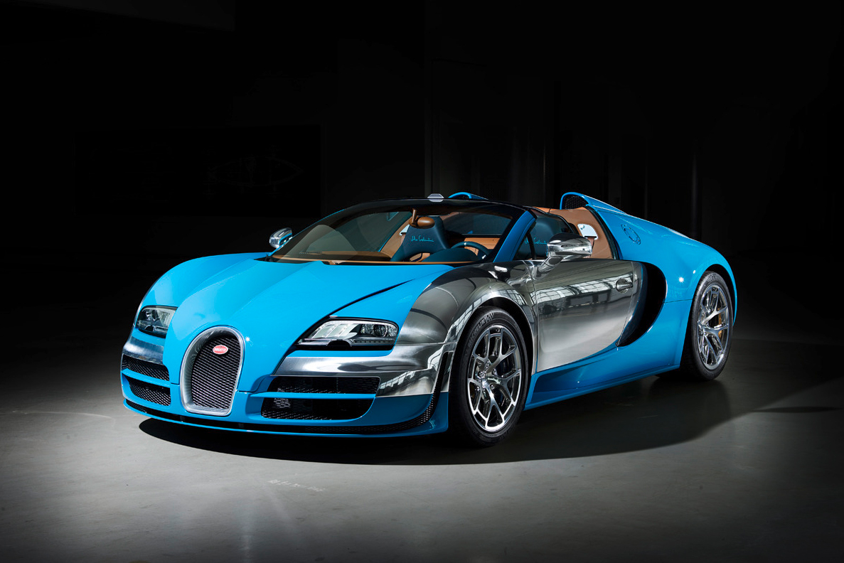 "Image of Bugatti Legends Veyron 16.4 Grand Sport Vitesse ""Meo Constantini"" Edition"