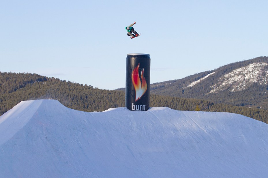 Image of burn's YouTube Channel Highlights the Official Energy Drink of the Sochi Winter Olympic Games and Its Athletes