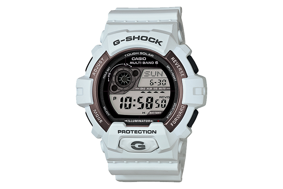 "Image of Casio G-Shock 2013 Holiday ""Blizzard White"" Collection"