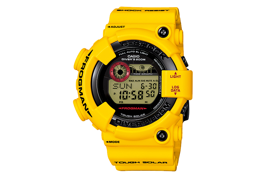 "Image of Casio G-Shock 30th Anniversary ""Lightning Yellow"" Collection"