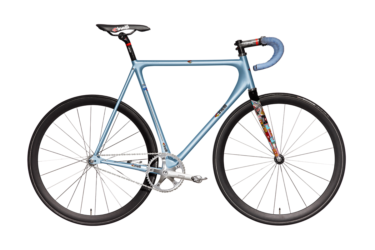 Image of Cinelli Laser Nostra Limited Edition Prototype for (RED)