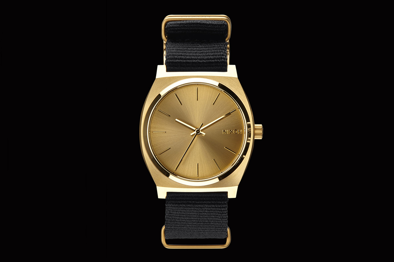 Image of colette x Nixon 2013 Gold Time Teller Watch