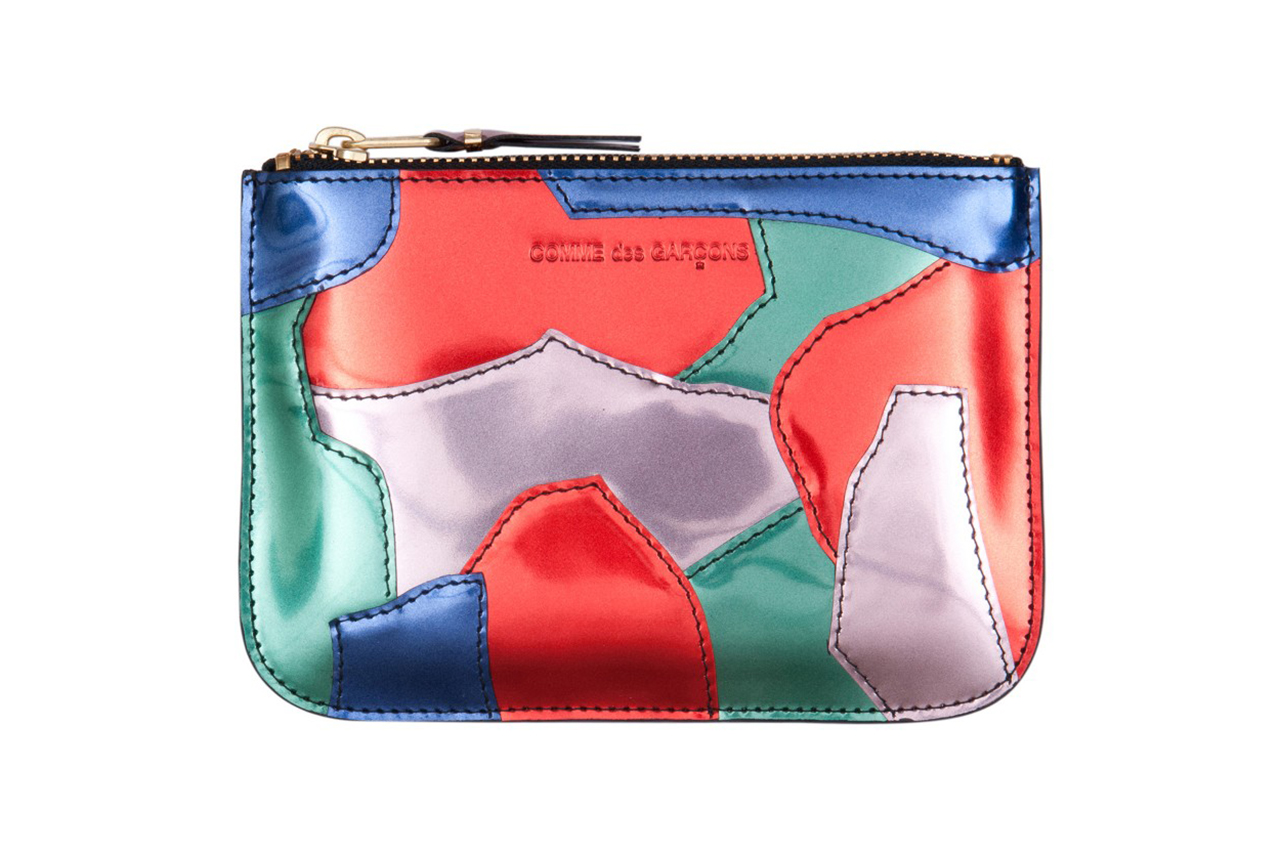 Image of COMME des GARCONS 2013 Fall/Winter Patchwork Metal Wallet Collection