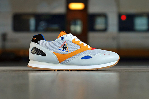 """Image of Crooked Tongues x Le Coq Sportif Flash """"French Exchange"""""""