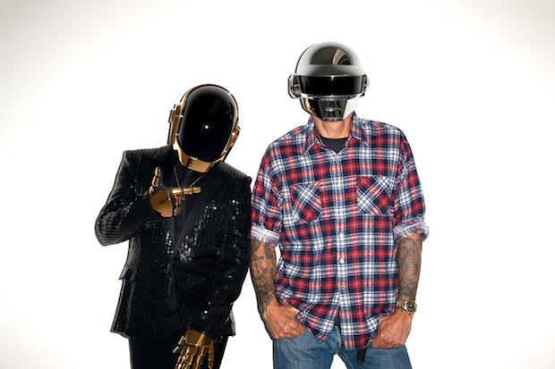 Image of Daft Punk Visits Terry Richardson's Studio