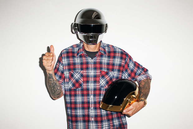 Image of Daft Punk Visits Terry Richardson's Studio