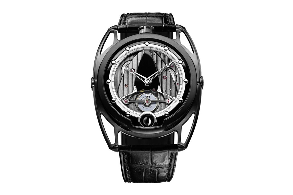 Image of De Bethune DB28 Black Matte Watch