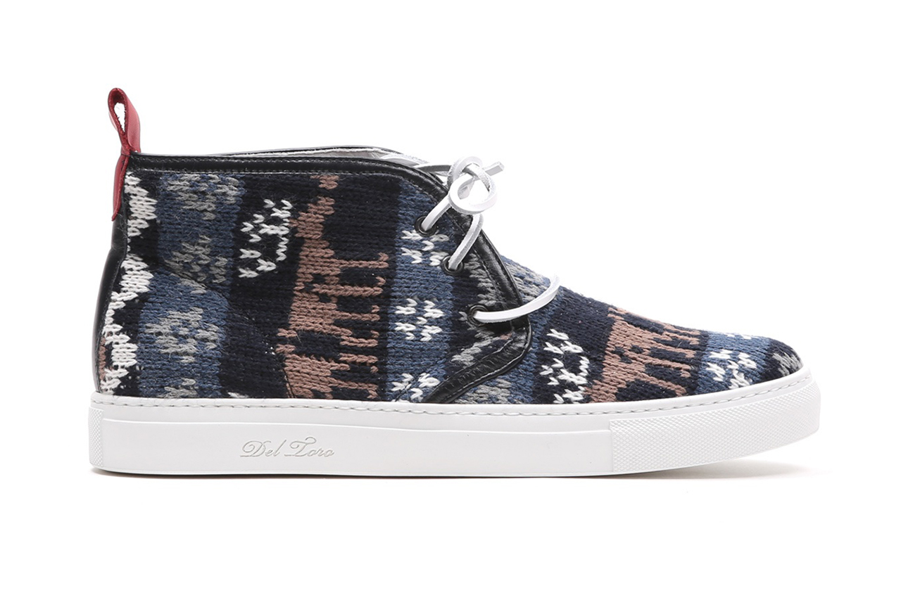 Image of Del Toro Fair Isle Wool Alto Chukka