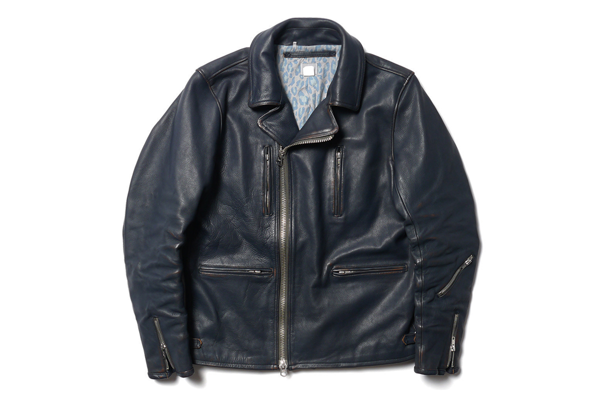 "Image of Deluxe ""Shift Kicker"" Leather Rider Jacket"