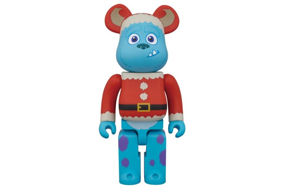 "Image of Disney Pixar x Medicom Toy 100% & 400% ""Christmas Party"" Bearbrick"