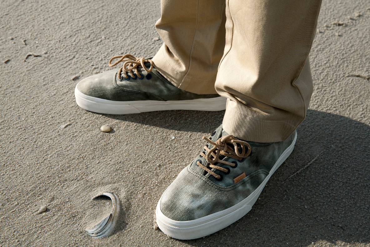 "Image of DQM x Vans 2013 Holiday Authentic ""HBT"""