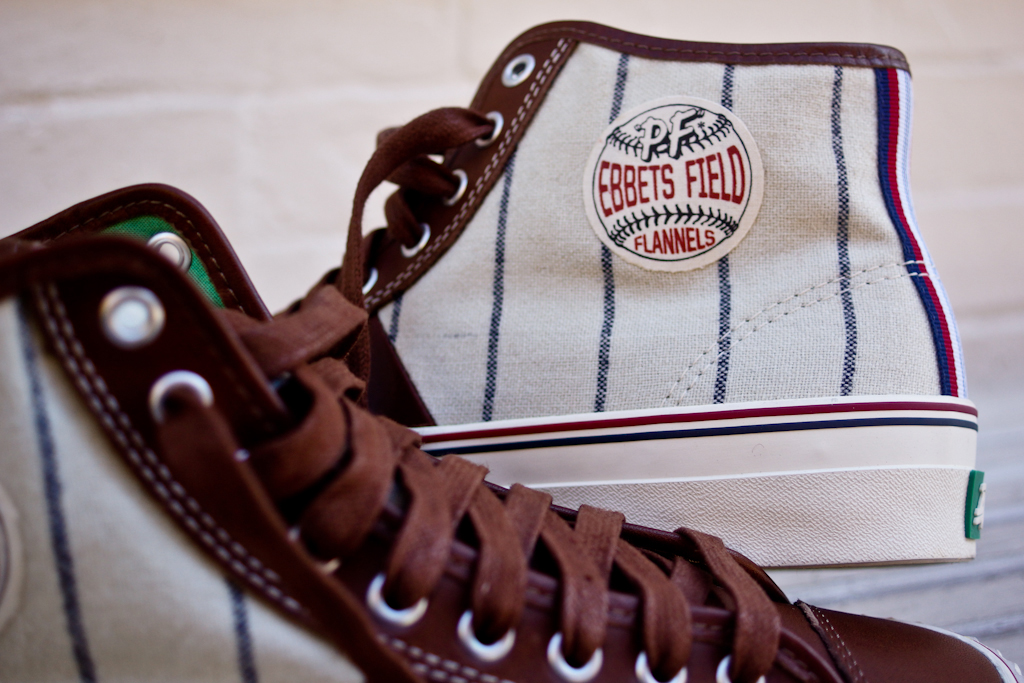 Image of Ebbets Field Flannels x PF Flyers 2013 Fall/Winter Center Hi