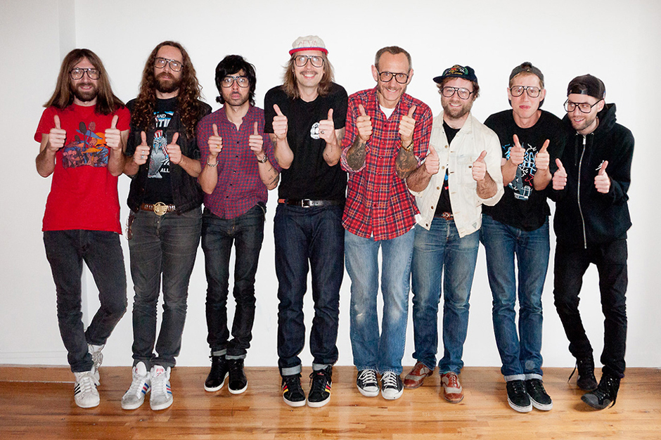 Image of Ed Banger Records Visits Terry Richardson's Studio