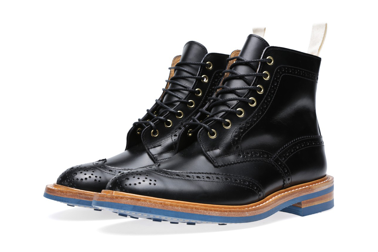 Image of End x Tricker's 2013 Fall/Winter Stow Brogue Boot