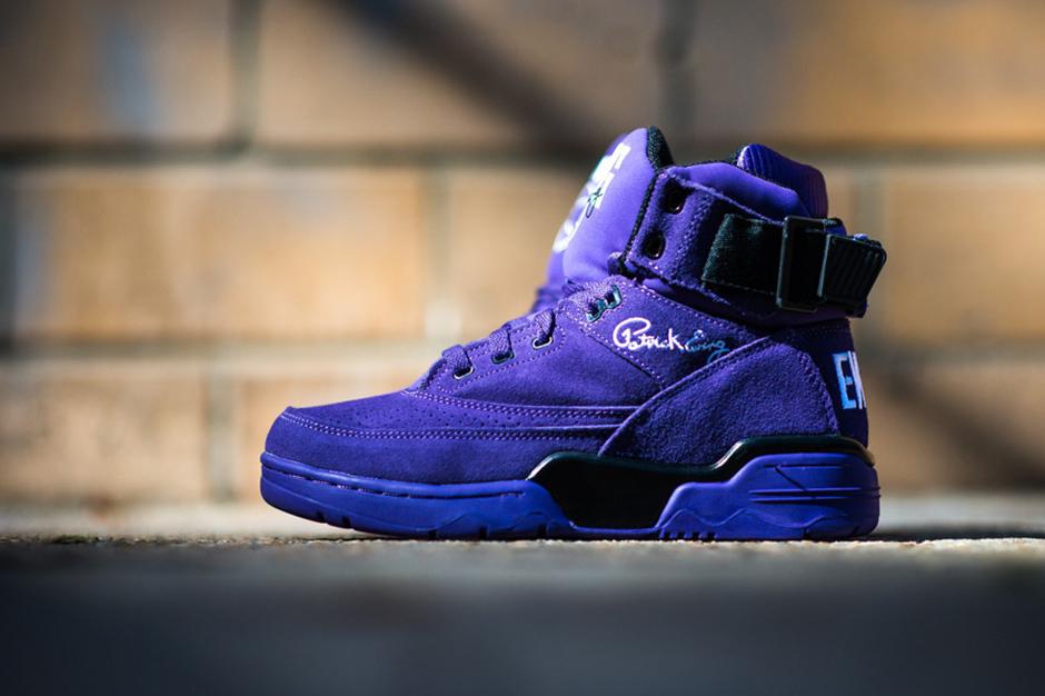 "Image of Ewing Athletics 33 Hi ""Purple Suede"""
