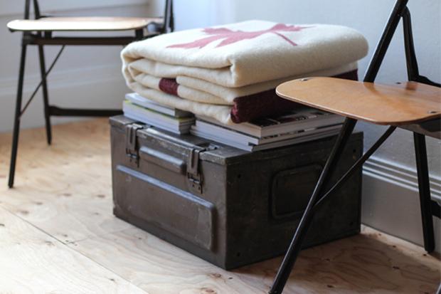 Image of Faribault Woolen Mills for Free Man & Co. Blanket