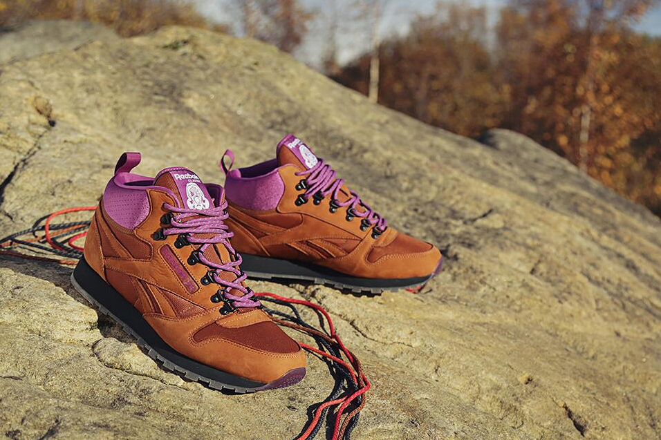 "Image of Foot Patrol x Reebok Classic Leather Mid ""On The Rocks"" Preview"