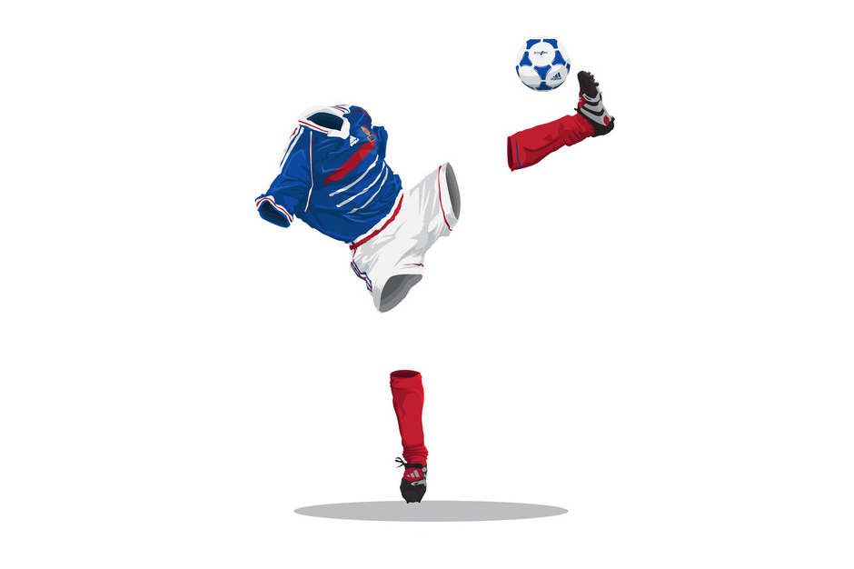 "Image of ""Football Invisibles"" by Mark Yesilevskiy"