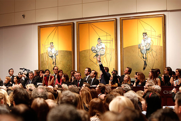 Image of Francis Bacon's 'Three Studies of Lucien Freud' Sells for $142.4 million USD