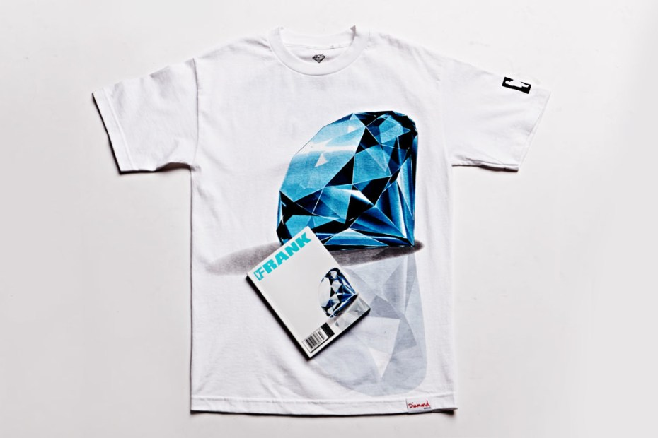 Image of Frank151 x Diamond Supply Co. T-Shirt & Cover for PacSun