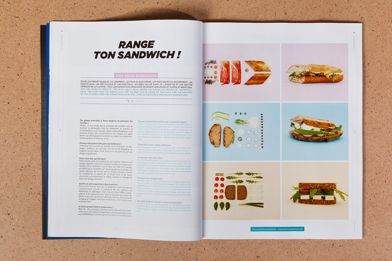 Image of Fricote Issue #13 Features Marc Newson, André, That Food Cray !!!, Yué Wu and Eddie Huang