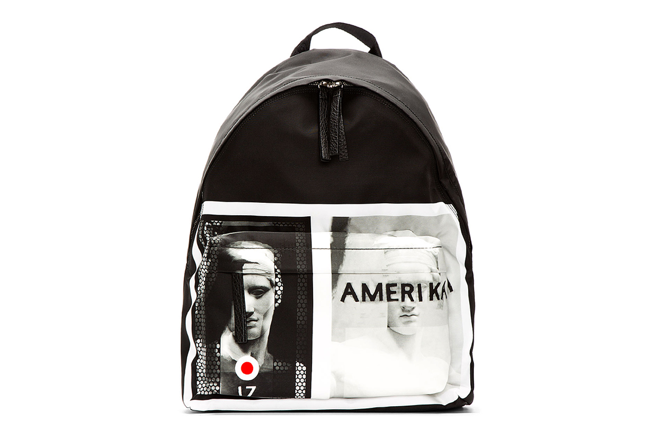 "Image of Givenchy 2013 Fall/Winter ""Amerika"" Graphic Backpack"