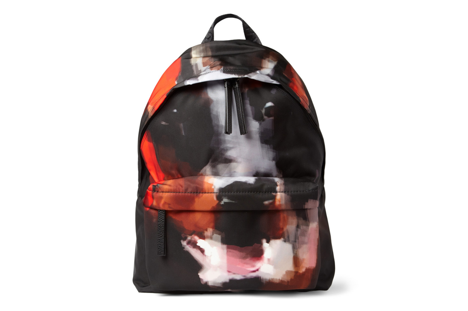 Image of Givenchy Doberman-Print Backpack