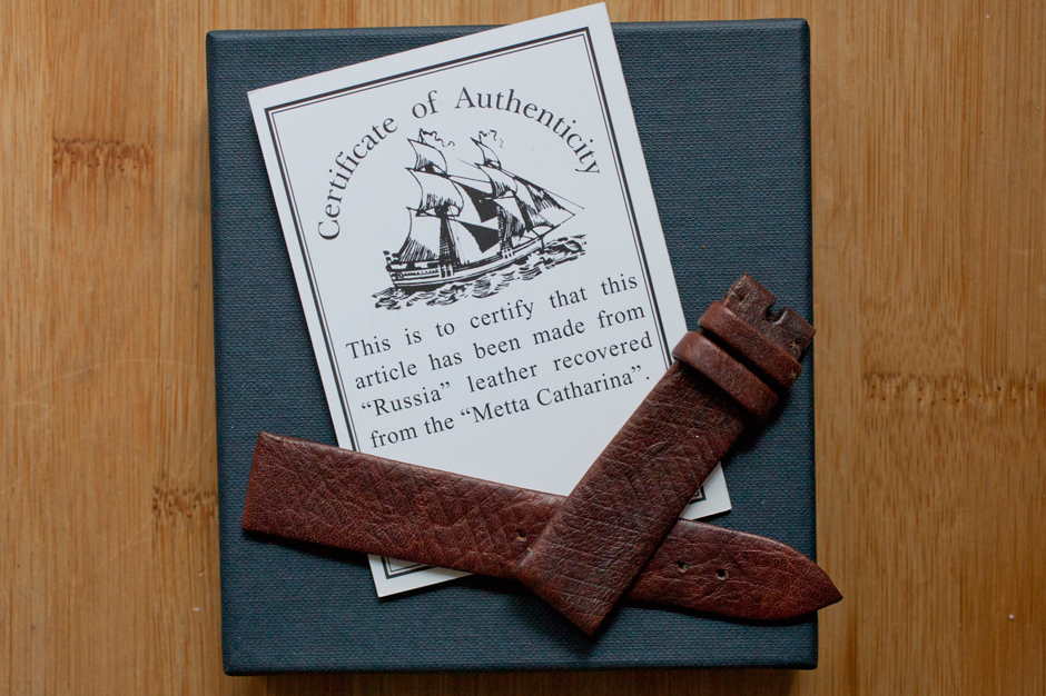 Image of HODINKEE and GJ Cleverly Present Rare 227-Year-Old Leather Straps