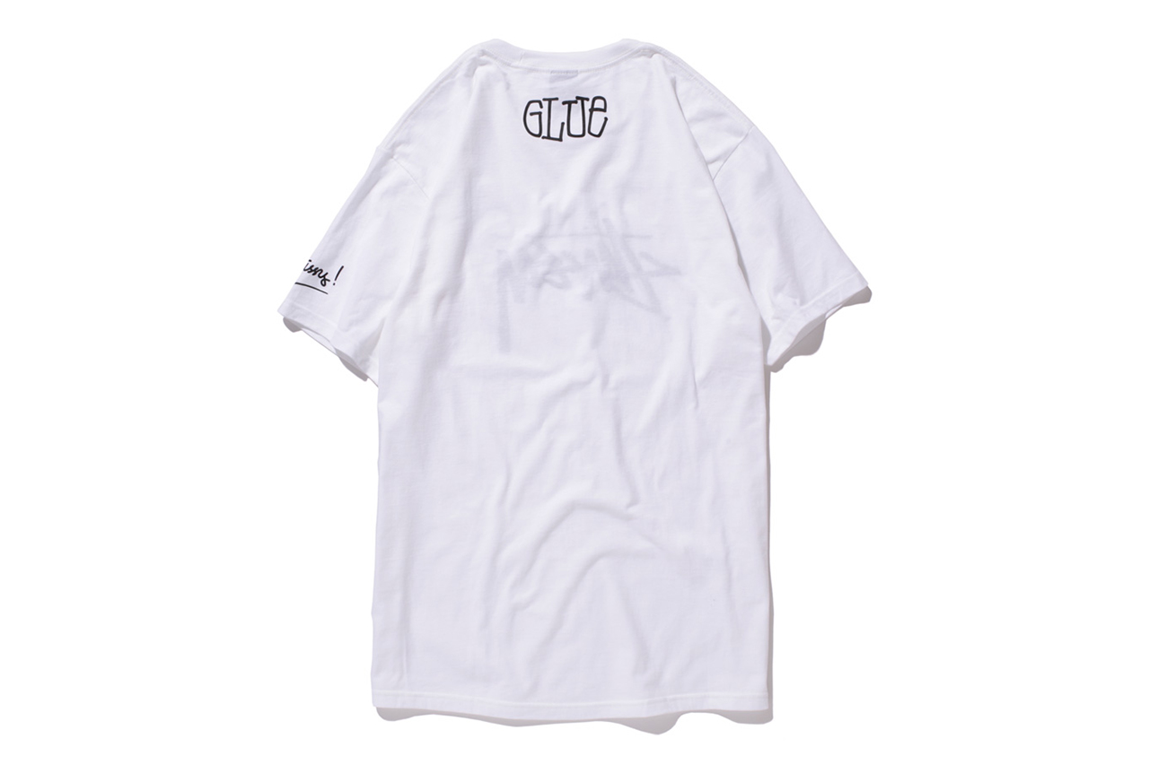Image of Glue x Stussy Limited Edition T-Shirt