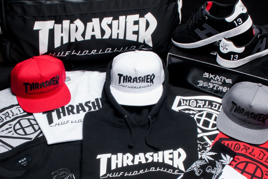"Image of HUF x Thrasher 2013 ""Stoops Euro Tour"" Collection"