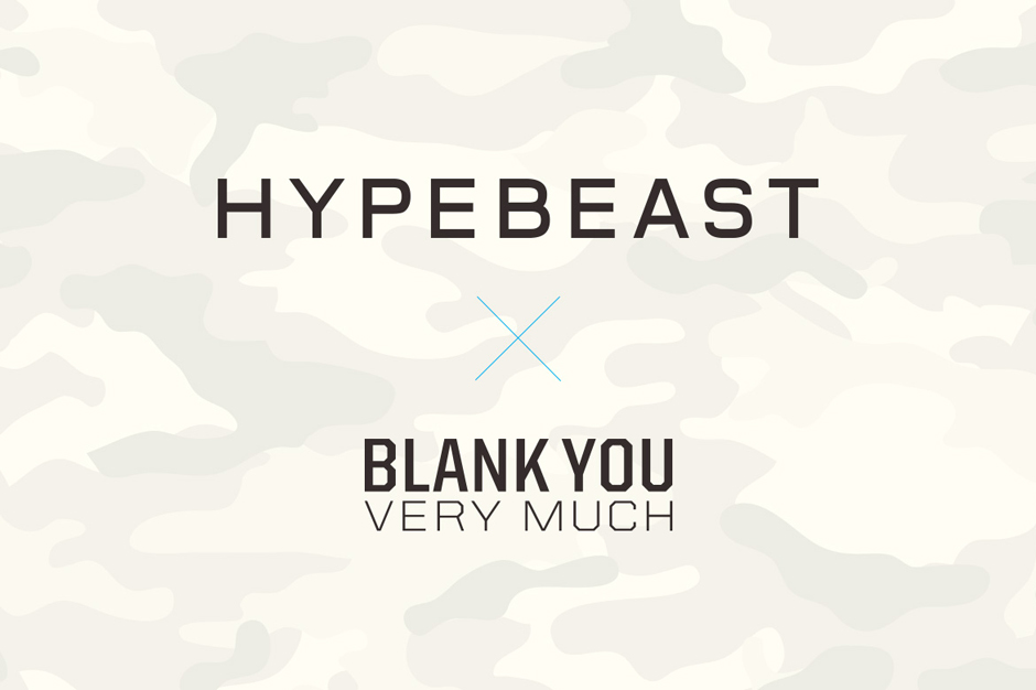 Image of Win $1,500 USD and Have Your Design Featured as Part of the HYPEBEAST x Blank You Very Much T-Shirt Contest