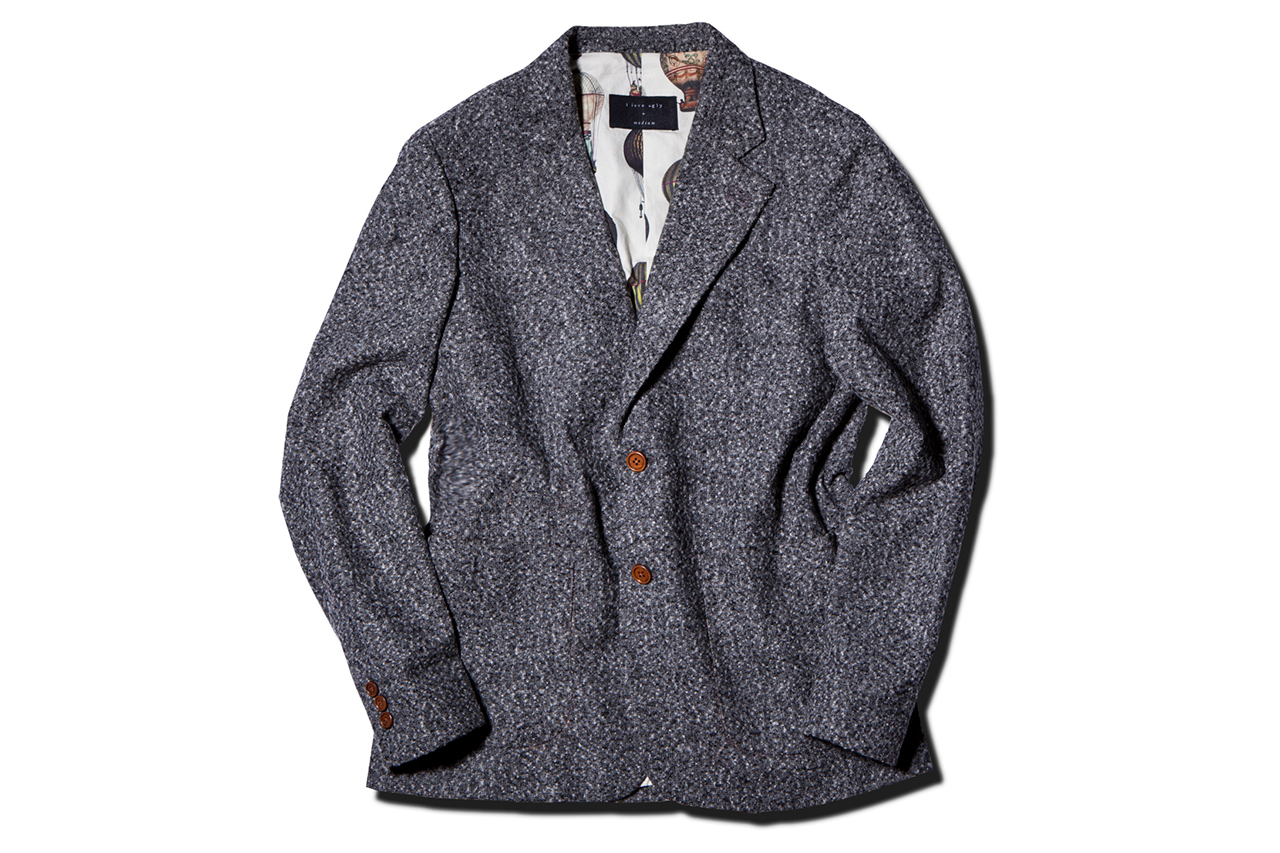 Image of I Love Ugly 2013 Fall/Winter Speckle Grey Blazer