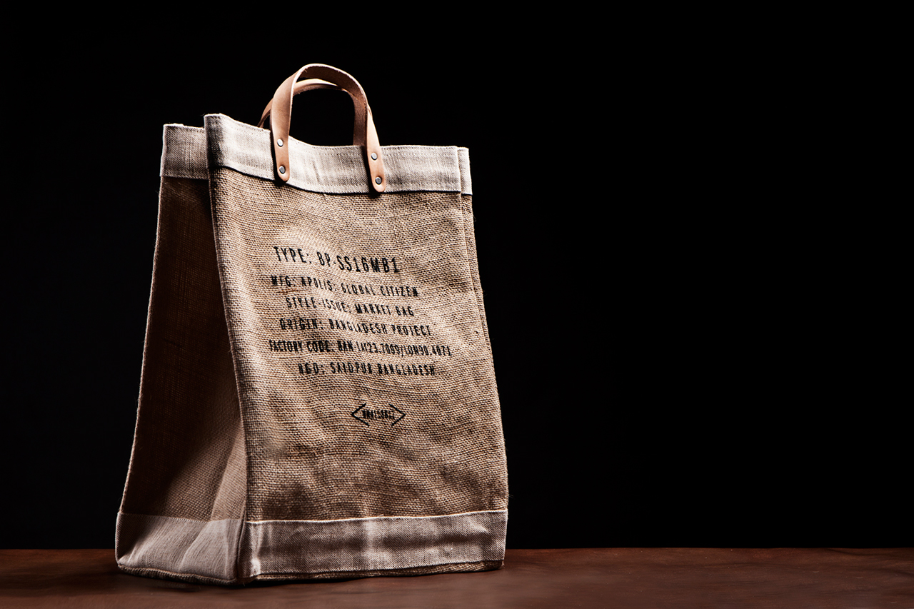 Image of I.T HYSAN ONE x Apolis Market Bag