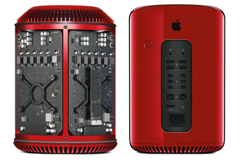 Image of Product (RED) Mac Pro Designed by Jony Ive & Marc Newson Sells for Nearly $1 Million USD