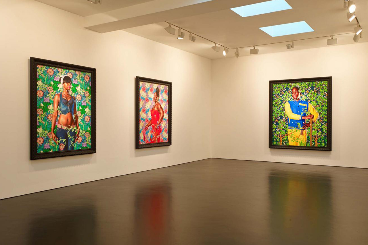 "Image of Kehinde Wiley ""The World Stage: Jamaica"" Exhibition @ Stephen Friedman Gallery"