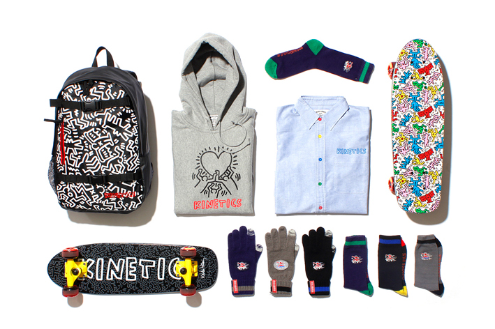 Image of Keith Haring by Kinetics 2013 Fall/Winter Collection