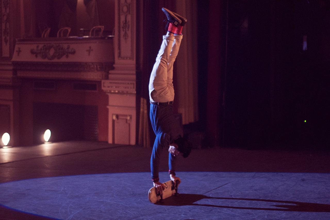 Image of Skater Kilian Martin Speaks About His Role in Ballantine's Presents Kilian Martin's Carmen