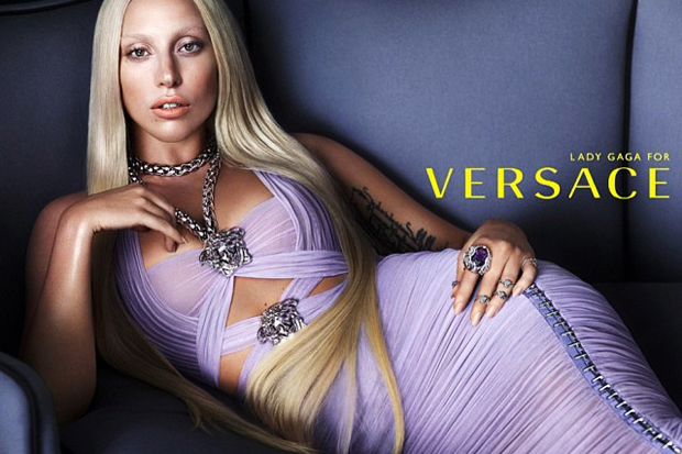 Image of Lady Gaga is the New Face of Versace
