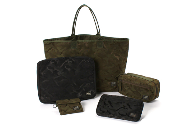 Image of LOWERCASE × PORTER × ÉDIFICE x WISM Jacquard Camouflage Collection