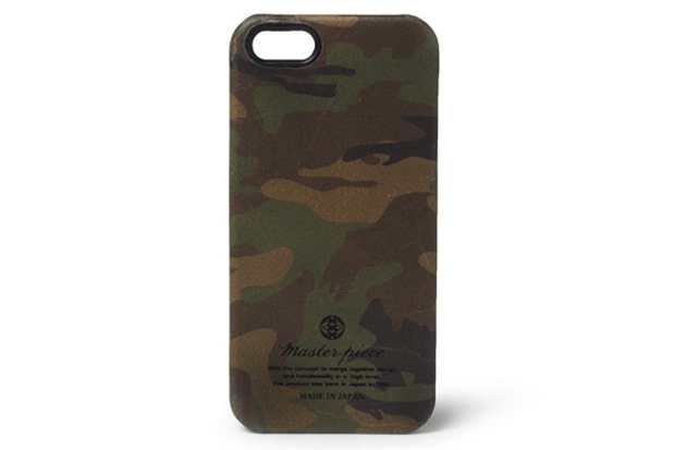 Image of master-piece Camouflage Leather iPhone 5 Case