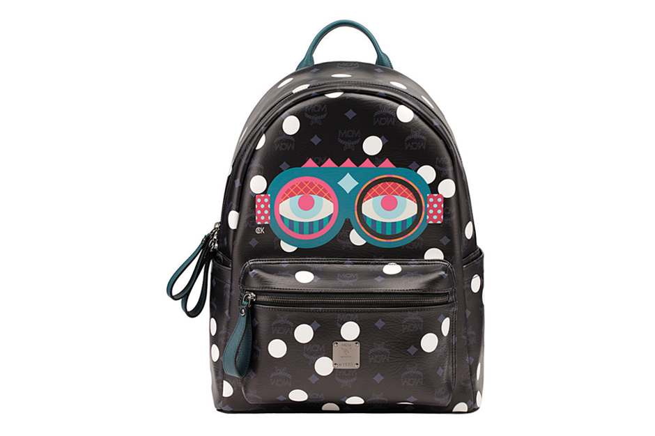"Image of Craig & Karl x MCM ""Beyond Snowdome"" Backpack"