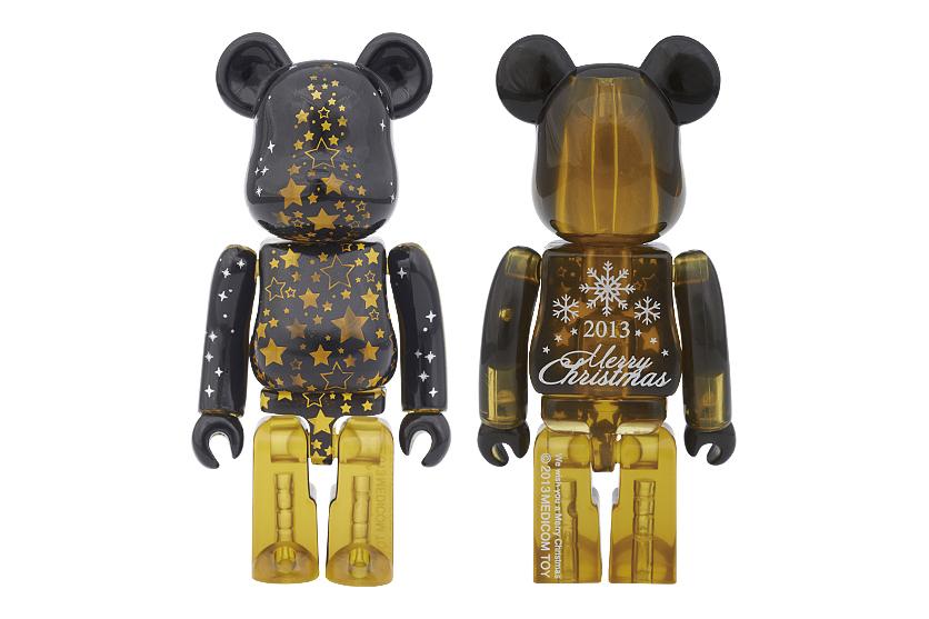 "Image of Medicom Toy 2013 ""Merry Christmas"" 100% Bearbricks"